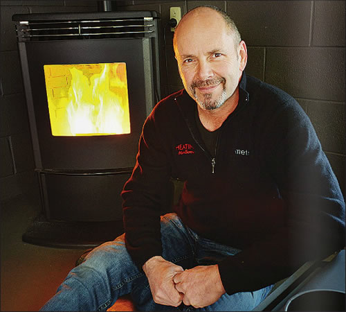Peter Cairns - owner of Heating Marlborough NZ