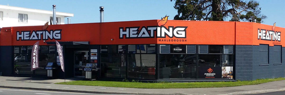 Storefront Of Heating Marlborough NZ