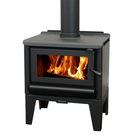 Masport Freestanding Wood Burner R1500 Legs At Heating Marlborough NZ