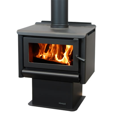 Masport Freestanding Wood Burner R1500 Pedestal At Heating Marlborough NZ