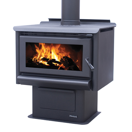Masport Freestanding Wood Burner R1600 At Heating Marlborough NZ