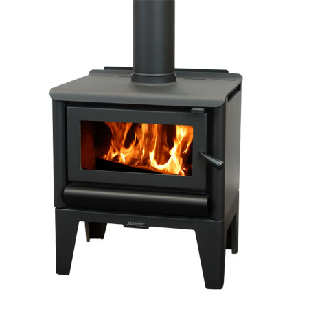 Masport Freestanding Wood Burner R5000 Legs At Heating Marlborough NZ