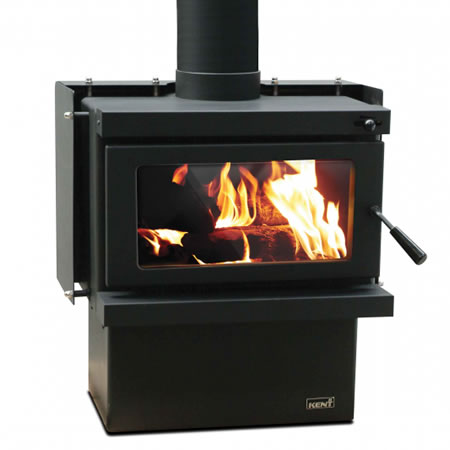 Kent Freestanding Radiant Wood Fire Tui Rad With Wetback At Heating Marlborough NZ