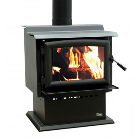 Kent Freestanding Wood Fire Barker II At Heating Marlborough NZ