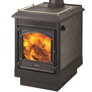 Firenzo Freestanding Fireplace - Lady Kitchener AG or RU